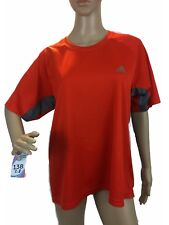 Adidas Mens Shirts Activewear Tops Climacool Sports Tech Tee Gym Training Work M