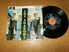 THE SHADOWS  - EP UK COLUMBIA 8278  - LISTEN - SURF POPCORN
