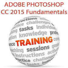Adobe PHOTOSHOP CC 2015 Fundamentals - Video Training Tutorial DVD