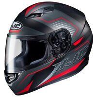 NEW HJC Helm CS-15 Trion schwarz rot matt Gr. M = 57/58 Motorradhelm