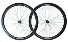 700c Aluminum Road Bike Wheelset Freewheel Compatible Front+Rear + 28c Tires NEW