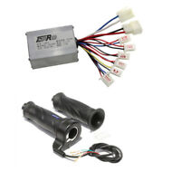 24V 250W Brush Speed Controller + Throttle for Electric Scooters E Bike Bicycle