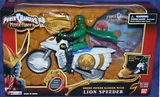 "Power Rangers Mystic Force 5"" Green Ranger Lion Speeder New w DVD Factory Sealed"
