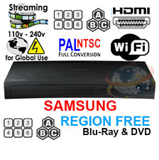 SAMSUNG BD-J5700 / BD-JM57 Region Free Blu-ray player Multi region