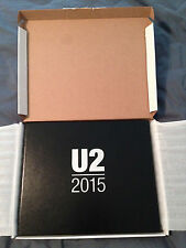 U2 Limited Edition Vip Gift Book iNnocence and eXperience Tour 2015