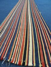 Antique Handmade Shahsavan Jajim Panel rug kilim table runner