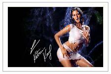 KATRINA KAIF SIGNED PHOTO PRINT AUTOGRAPH BOLLYWOOD MOVIES DHOOM 3