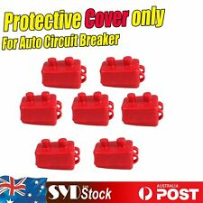 7 x Protective Insulated Covers For 12V 50a Auto Circuit Breaker Reset Protector