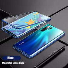 360° Funda para Huawei P20 P30 Pro Lite Honor 20 10 8X magnético vidrio carcasa