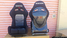 Bride Stradia II Style - Carbon Fiber Back Racing Seat Bride Center Writing