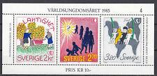 Schweden Block 13 postfrisch Internationales Jahr der Jugend