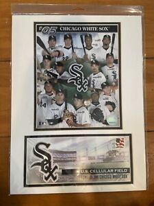 NIB Chicago White Sox 2005 Team Photo USPS Postmark 4/4/05 NEW Bobblehead Jersey