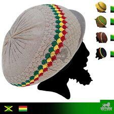 Rasta Rastafari Hat Cap Rastacap Reggae Jamaica Hats Dreadlocks Marley Irie M/L