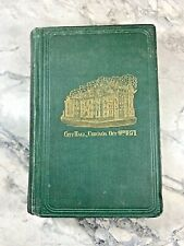 """1871 Antique History Book """"The Great Conflagration in Chicago"""" Fire, Illustrated"""