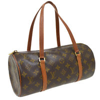 LOUIS VUITTON PAPILLON 30 HAND BAG PURSE MONOGRAM CANVAS M51365 NO0955 36170
