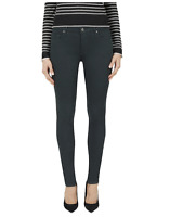 BLACK ORCHID Jude Mid Rise Super Skinny Jeans Jaded Dark Green 26 $160 #536
