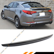 KDM SPORT OE STYLE GLOSS BLACK TRUNK LID SPOILER WING FOR 2011-2013 KIA OPTIMA