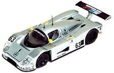 IXO LM1989 SAUBER MERCEDES C9 die cast car silver body Mass Reuter Dickens 1:43