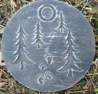 tree  plaque plastic garden casting plaque mold mould  see more in my store