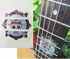 Guitar Inlay Stickers Cartoon Decals