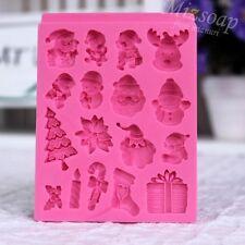 [mizsoap] mini silicone soap mold deco making supplies #15 christmas xmas au