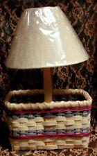 Rustic Americana Handmade Market Basket Lamp - American Made