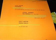 SCOTT HUSTON Opus One PRIVATE TUBA PIANO CHAMBER QUARTET LP RARE