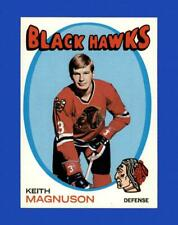 New listing 1971-72 Topps Set Break # 69 Keith Magnuson EX-EXMINT *GMCARDS*