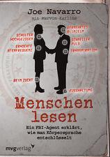 MENSCHEN LESEN ein FBI Agent erklärt wie es geht Körpersprache Psychologie Buch