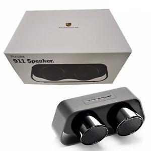 BNIB Porsche Design 911 Speaker Black Bluetooth Premium High-End Speaker
