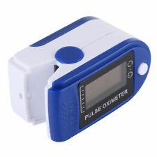 AdesiviSicurezza Pulsossimetro da Dito Portatile - Blue