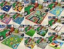 Kids Rugs Bedroom Girls Boys Designer Floor Living Room Soft Nursery Mat Carpets