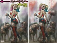 Harley Quinn Villain of Year #1 Lucio Parrillo Virgin Variant Exclusive Set LE