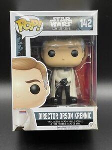 New Funko Pop! Star Wars: Rogue One Director Orson Krennic Vinyl Figure Box Dmg