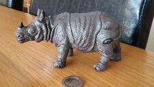 Vintage 1994 TM Rhinoceros Rhino 12cm long Plastic Toy Collectable Rare