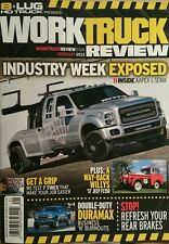 Work Truck Review Industry Week Exposed Duramax February 2015 FREE SHIPPING!