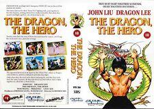 The Dragon The Hero, John Liu Video Promo Sample Sleeve/Cover #14047