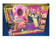 Barbie Hairtastic color y lavado Salon Raro Coleccionable