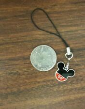 New listing Bn Disney Mickey Mouse Enamel Cell Phone Charm Strap Lariat - Silver-