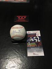 Justin Morneau Twins Autographed Baseball Ball JSA Certified