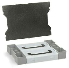 L Boxx Insert avec L-BOXX Mini Bosch Sortimo Set de Boîtes Tampons Couverture