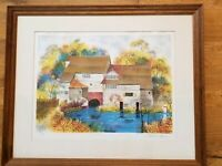 VINTAGE LIMITED EDITION PRINT BY EDWARD RIPLEY SIGNED, FRAMED, NUMBERED
