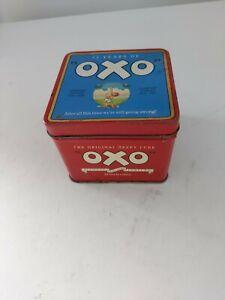 OXO DIAMOND JUBILEE EMPTY TIN 75 YEARS OF OXO =  1985