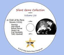 "DVD ""A Child of the Paris Streets"" (1916) Mae Marsh Robert Harron, Classic Drama"