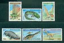 Benin Scott #884-889 MNH Prehistoric Animals Fauna CV$4+