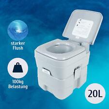 Tragbare Campingtoilette Chemietoilette Mobil WC Toiletteneimer Reise-WC 20L