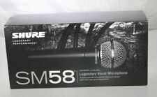 Shure SM58S Vocal Dynamic Microphone Mic With On Off Switch