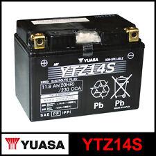 BATTERIA [YUASA] YTZ14S (12 VOLT/11,2 AMPERE) SIGILLATA ATTIVATA/FACTORY SEALED