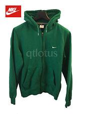 Nike Swoosh Full Zip Green Hoodie Sweatshirt air jordan Jacket L Men Boston
