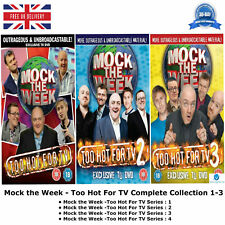 Mock the Week:Too Hot For TV Series 1-3 Complete Collection 1 2 3 +Lots of Extra